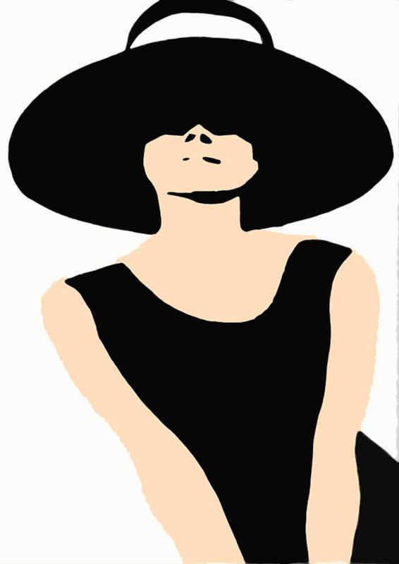 Print_audrey hat