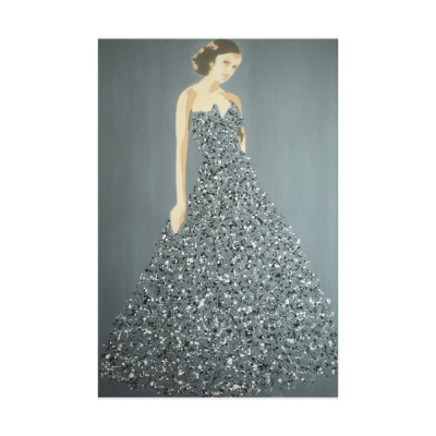 Title: Ball Gown Splash Model #2 by Dominic Joyce