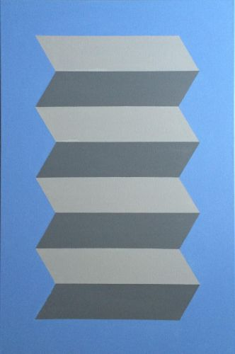 'Escalator' Original Canvas Painting