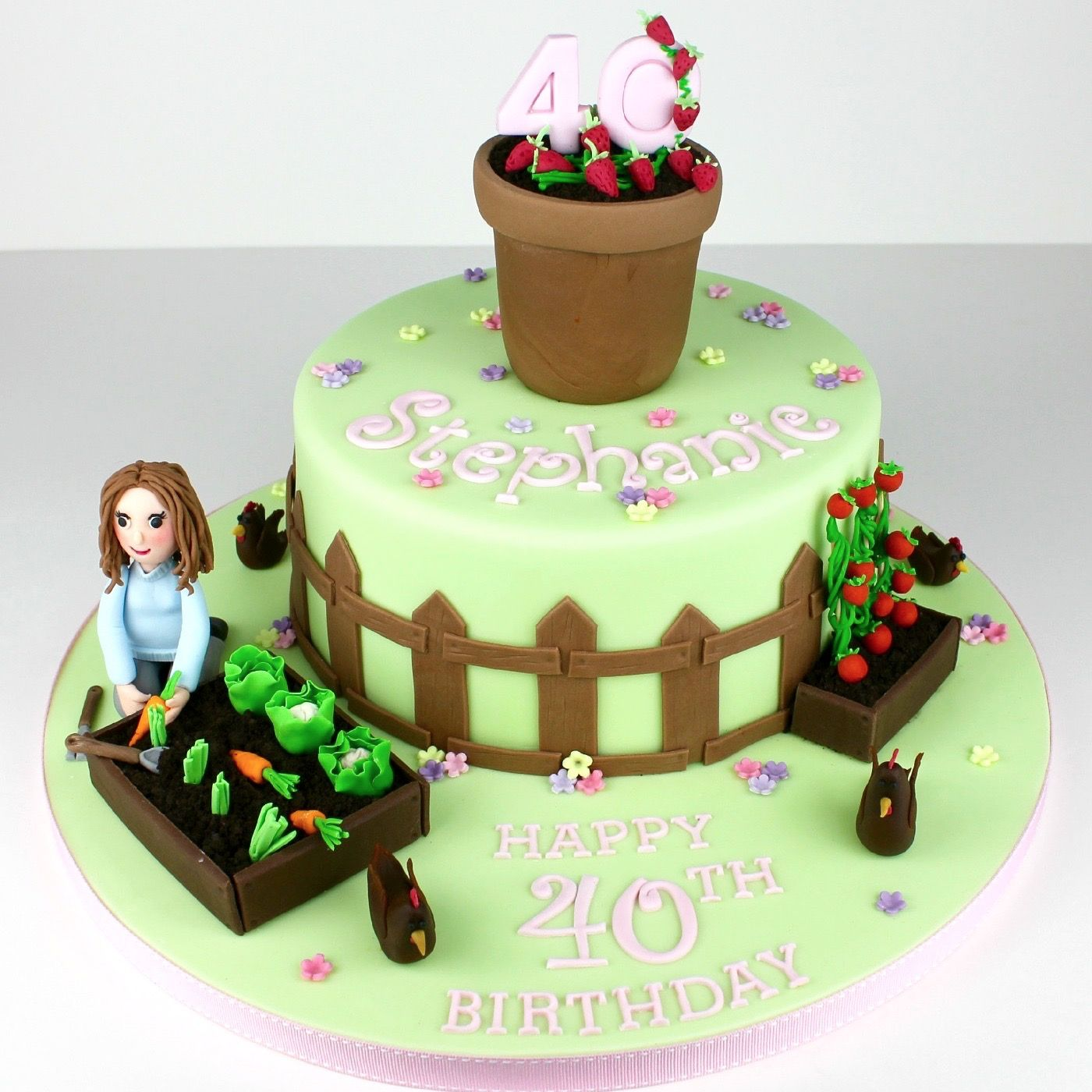 40th Gardening design