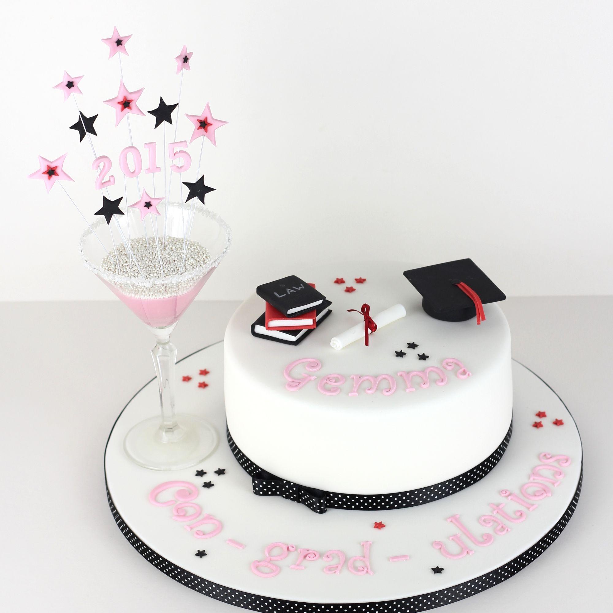 Gruduation cake