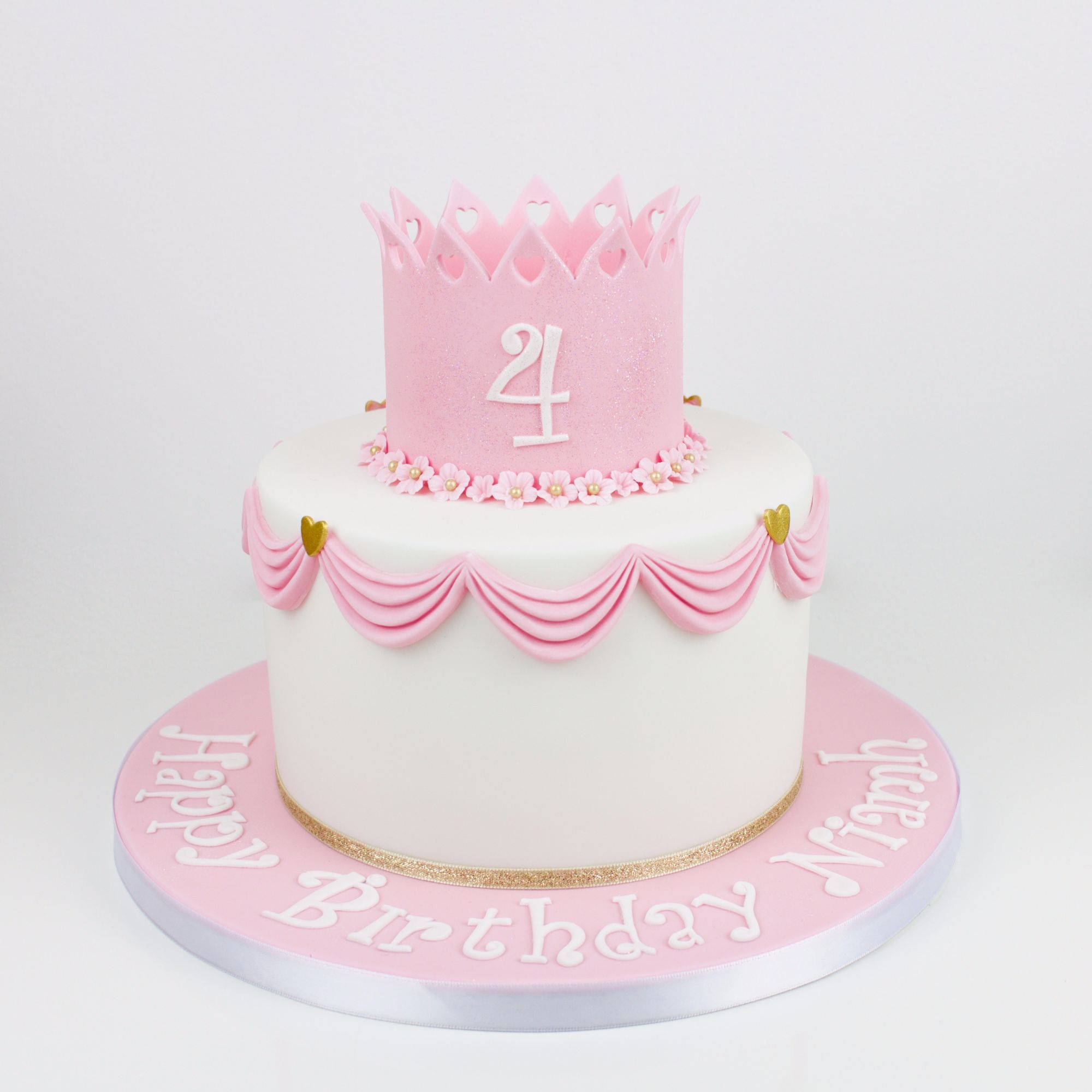 Pink princess design.