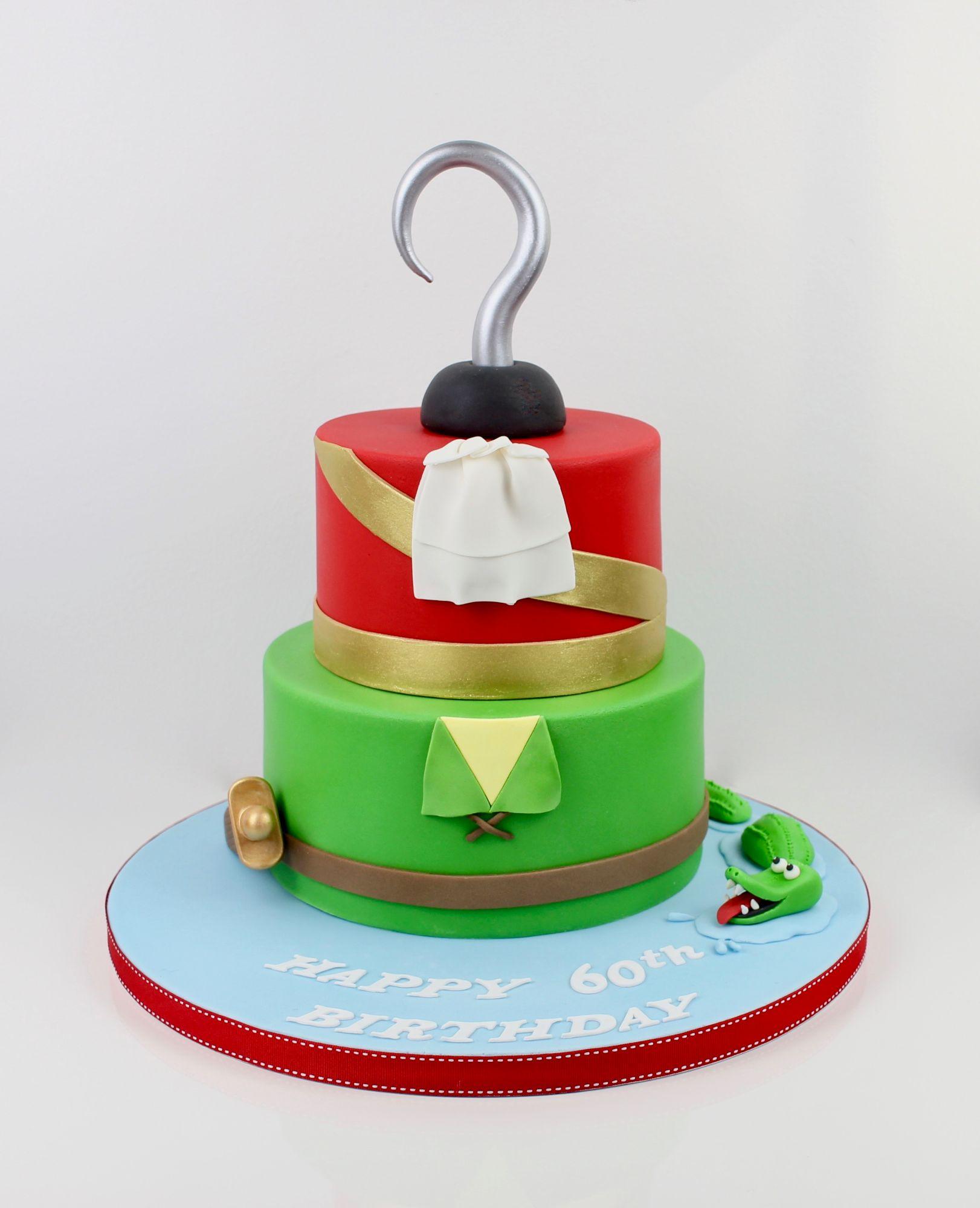 Peterpan & Captain hook cake