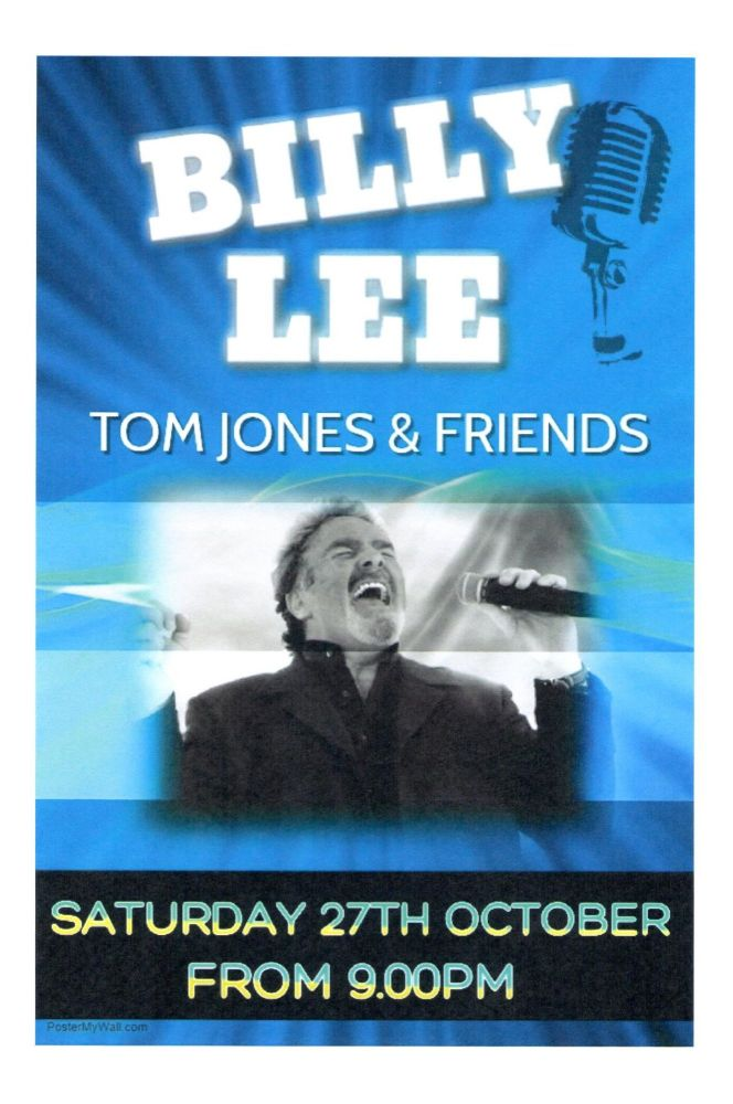 Billy lee poster