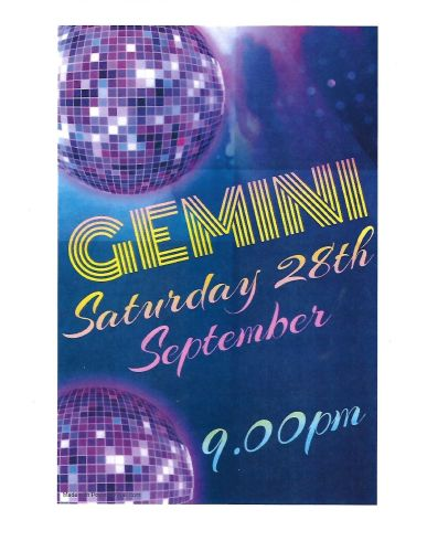 gemini 28th Sept