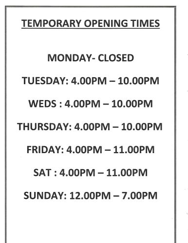 opening times 6-7