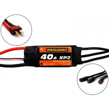 2723 - Overlander XP2 40A Brushless ESC - RTF Speed Controller