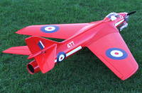 Red Arrow Hawker Hunter 3