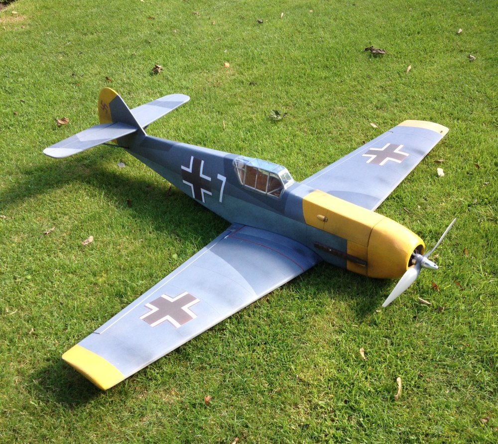 CA07 - Funfighter ME109 Electric Kit