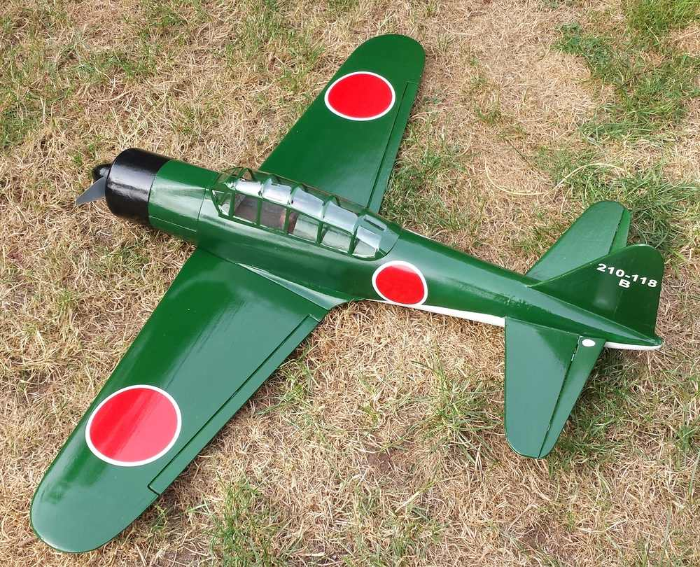 CA30 - Fun Fighter Zero Electric Kit