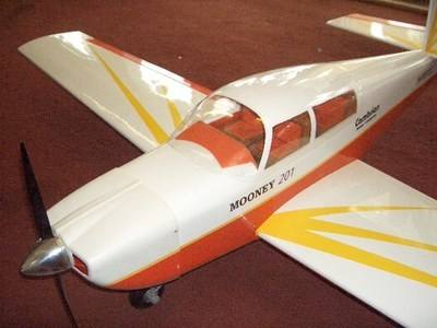 CA18 - Mooney 201 Executive rc plane kit