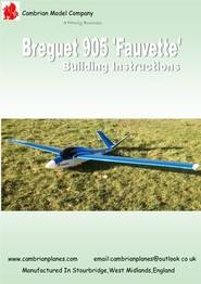 CA23/INS - Breguet 905 'Fauvette' Instructions