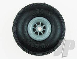 DB275T Treaded Low Bounce Wheels 2 3/4ins