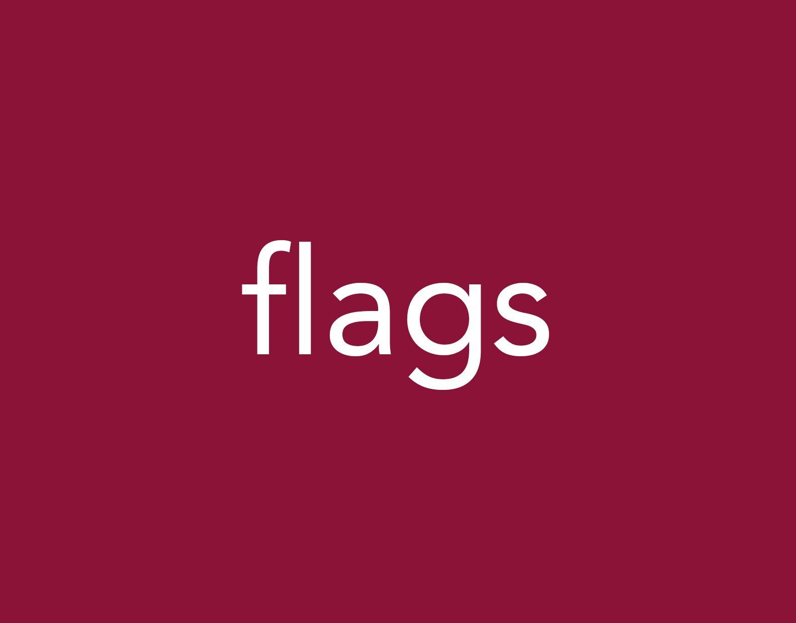Portfolio flags
