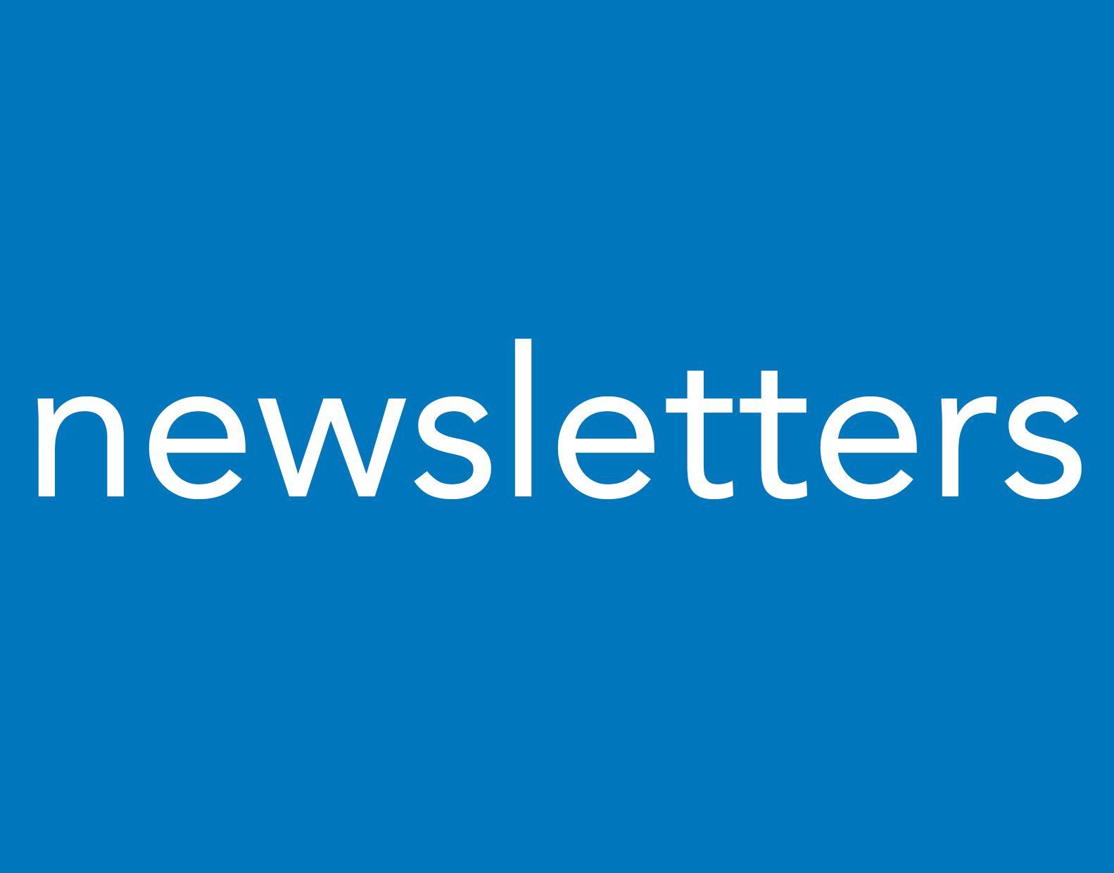 Portfolio newsletters
