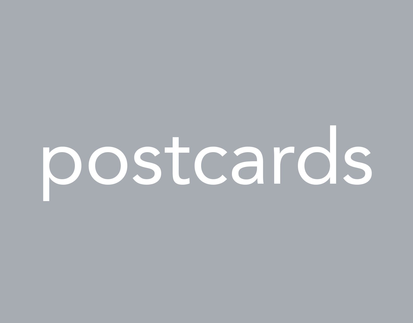 Portfolio postcard