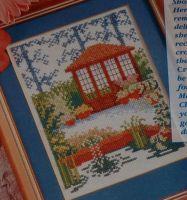 Summer House in a Water Garden - Cross Stitch Chart