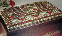 Strawberry Fayre Box Lid / Kneeler ~ Canvaswork Chart