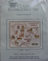Classic Embroidery: Map of Essex SA 90 ~ Cross Stitch Kit