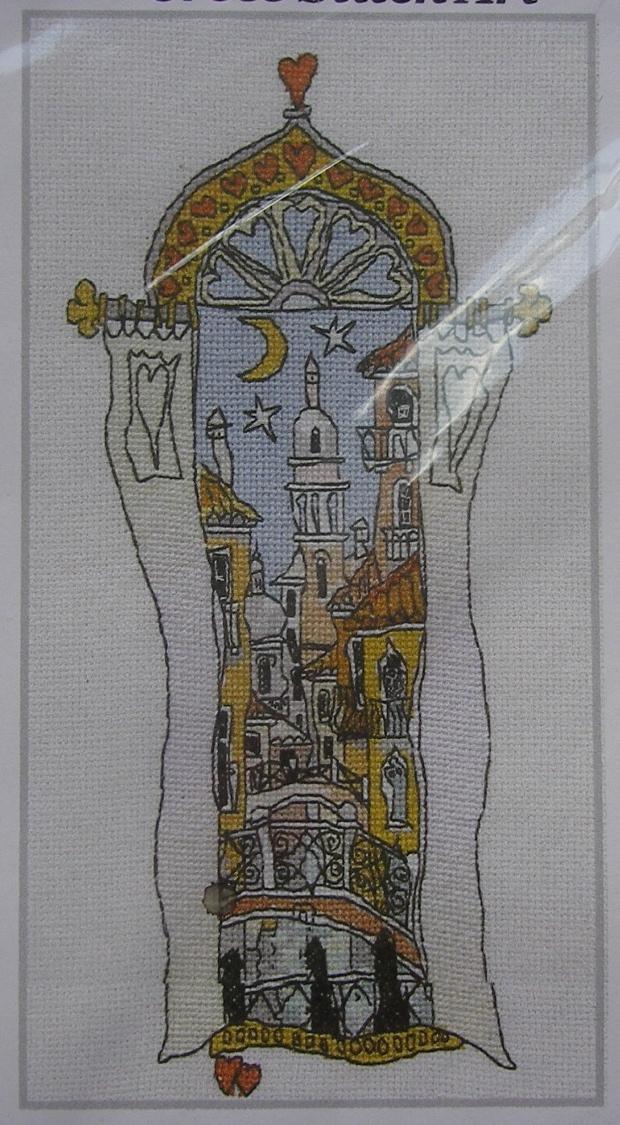 Michael Powell: Venice Windows 3 ~ Cross Stitch Kit