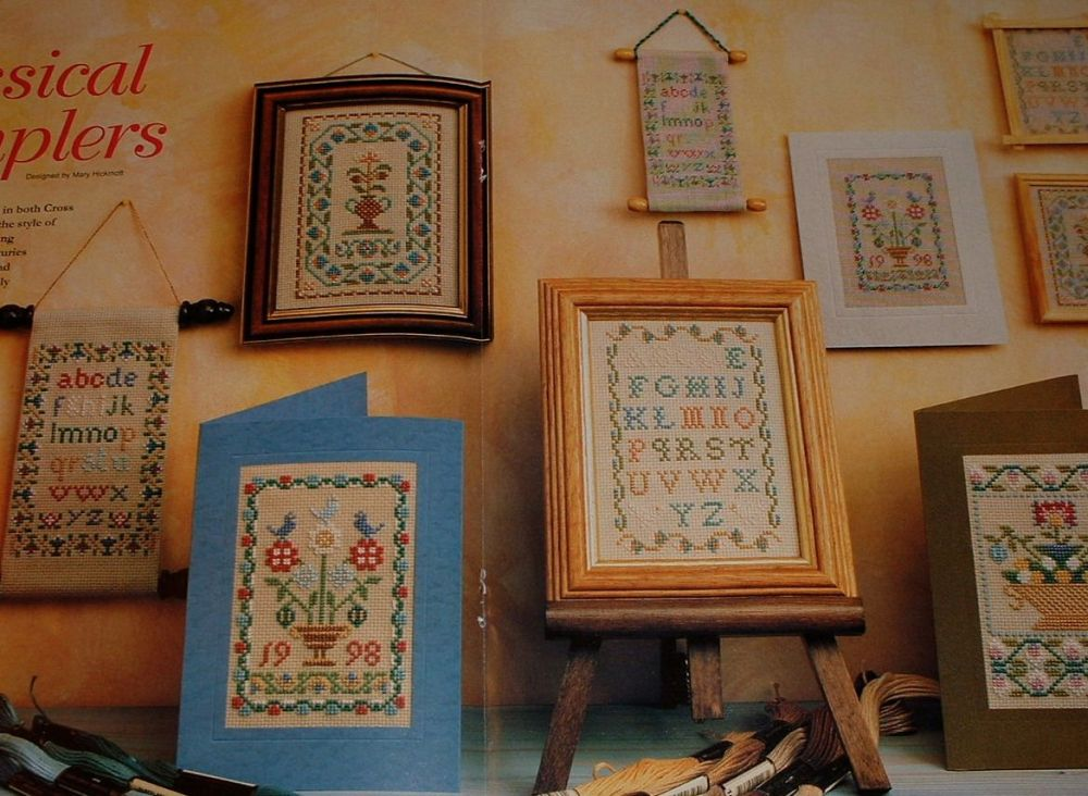 Classical Victorian Samplers ~ Cross Stitch & Petit Point Charts