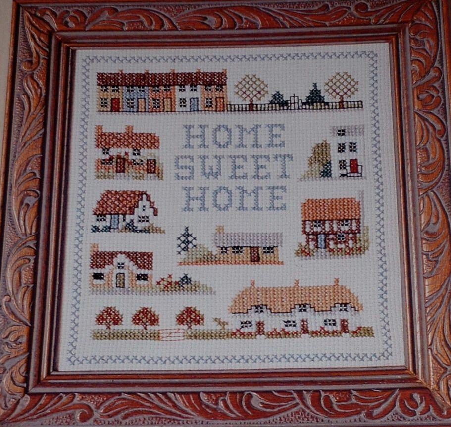 Home Sweet Home Sampler ~ Cross Stitch Chart