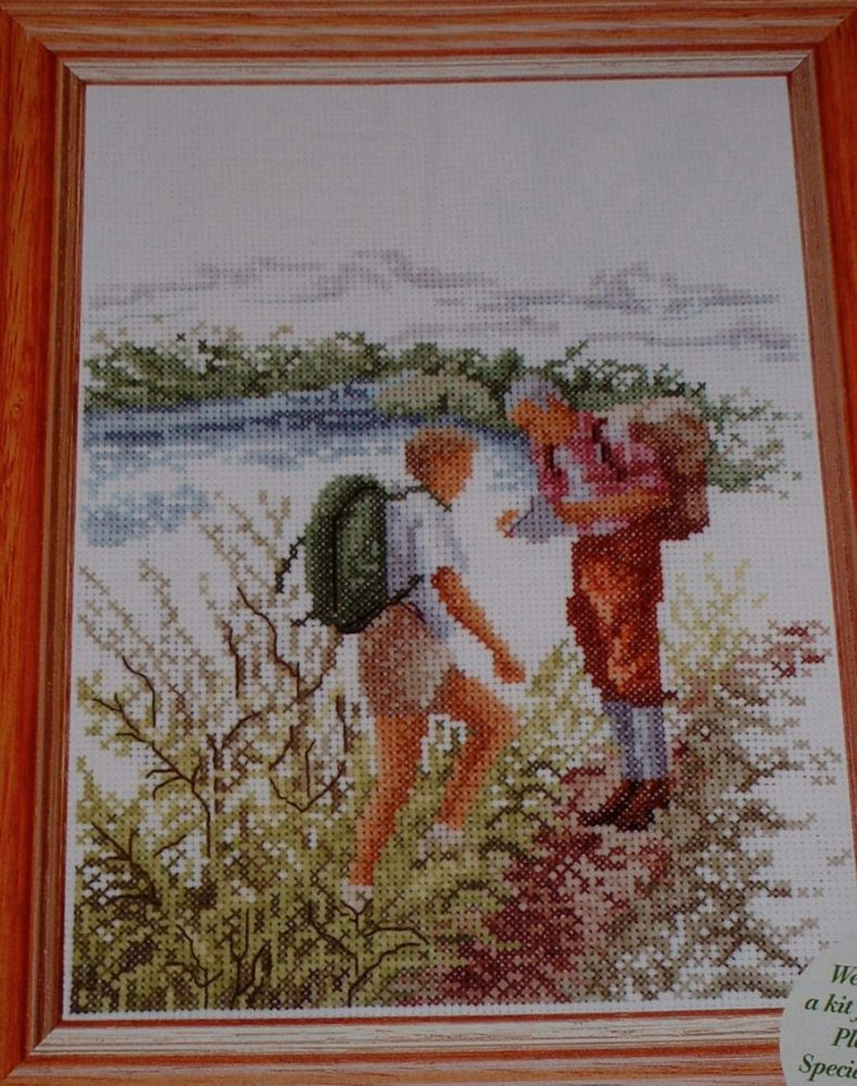 Thea Gouverneur: The Hikers ~ Cross Stitch Chart
