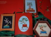 Bonsai Miniatures ~ Five Cross Stitch Charts