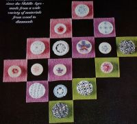 Decorative Embroidered Buttons ~ Embrodiery Patterns