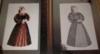 Henry VIII's Wife: Katherine Howard ~ Cross Stitch & Blackwork Charts