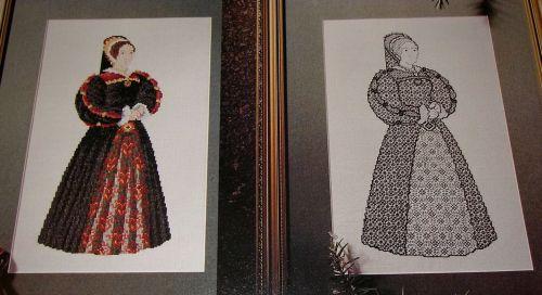 Henry VIII's Wife: Katherine Howard ~ Cross Stitch & Blackwork Charts