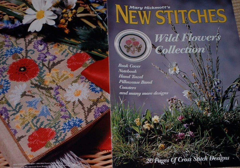 Wild Flower Collection ~ Cross Stitch Charts