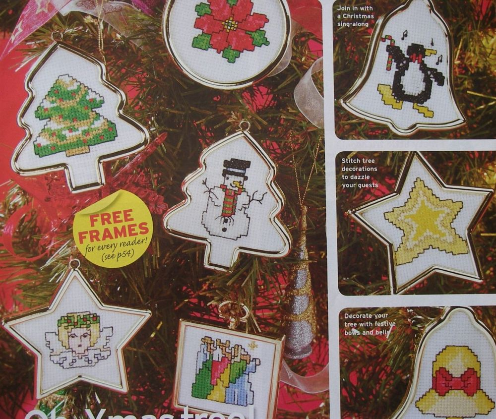 33 Christmas Cards/Decorations ~ Cross Stitch Charts