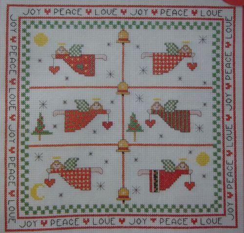Christmas Angel Sampler/Cards ~ Cross Stitch Charts