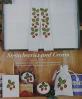 Strawberries Banding & Motif ~ Cross Stitch Charts