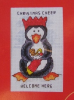 Christmas Cheer Welcome Here ~ Cross Stitch Chart
