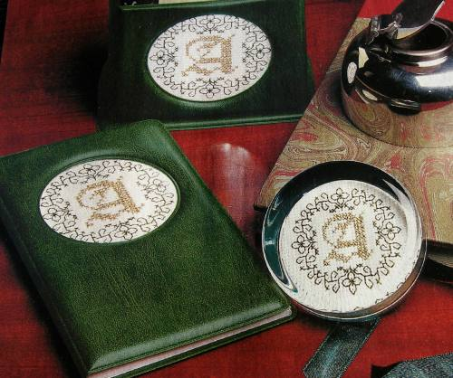 Monogram Alphabets ~ Three Cross Stitch &/or Blackwork Charts