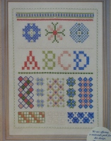 Stitch Sampler ~ Hand Embroidery Pattern