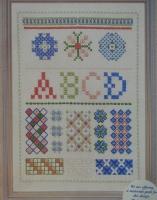 Stitch Sampler ~ Hand Embroidery Pattern