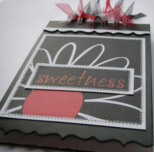 *sweetness* OOAK Handmade Mini Scrapbook/ Notebook/ Autograph Album