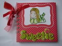 *sweetie* baby girl scrapbook photo album