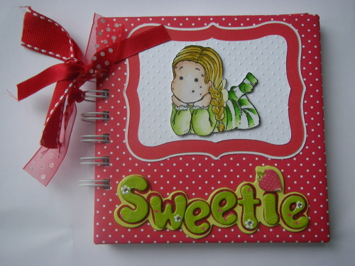 *sweetie* baby girl scrapbook photo album
