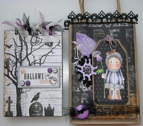 *31st October* OOAK Handmade Halloween Scrapbook Book in a Bag