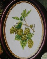 Thea Gouverneur: Kentish Hops ~ Cross Stitch Chart
