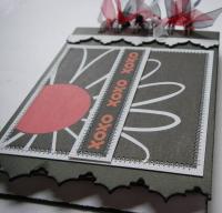 *xoxo* OOAK Handmade Love Mini Scrapbook/ Notebook/ Autograph Album
