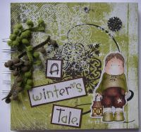 *a winter's tale* Handmade Scrapbook Photo Album