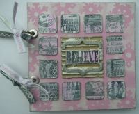 *believe* an inchie Christmas Scrapbook Album