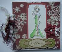 *celebrate* Christmas Scrapbook/Photo Album