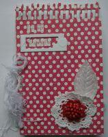 *in my garden* OOAK Handmade Envelope Scrapbook Memory Album