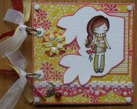 *picking flowers* Handmade Memory Scrapbook Album